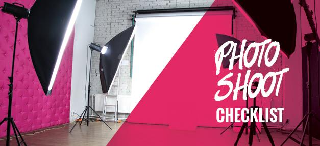 Workplace Rights for Models Photo Shoot Checklist Banner
