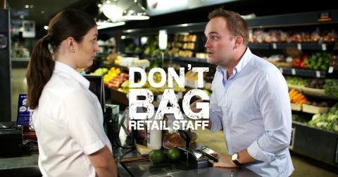 Don't Bag Retail Staff header